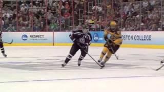 Shayne Gostisbehere Frozen Four final highlights