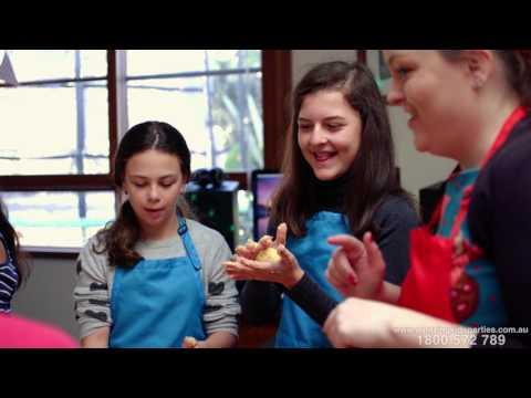 Kids Cooking Party - Amazing Kids Parties Australia