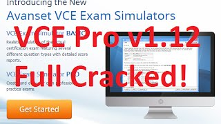Avanset VCE Exam Simulator Pro 1.1.2 + Crack Full Download Mediafire