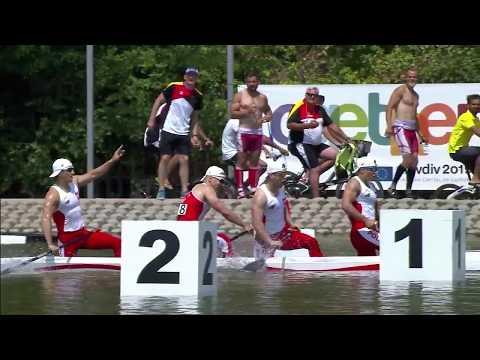 C4M 1000m Final A - 2017 ECA Canoe Sprint European Championships