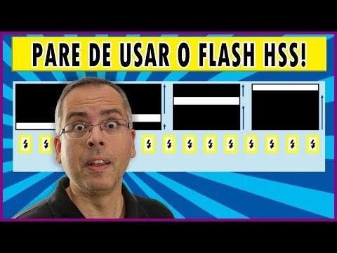 Pare de usar o flash HSS desse jeito!