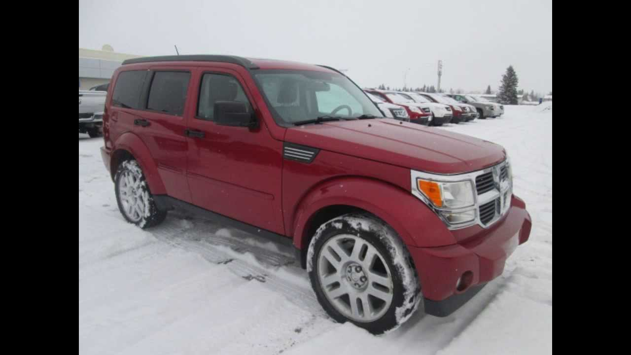 2008 dodge nitro slt rt 4dr 4x4 in review red deer youtube. Black Bedroom Furniture Sets. Home Design Ideas
