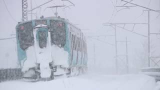 青い森鉄道 青い森703系570M 筒井駅発車 2017年3月8日