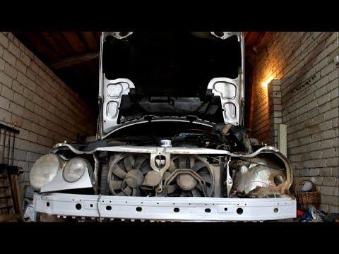 Mercedes W210, подготовка к замене стакана и чашки
