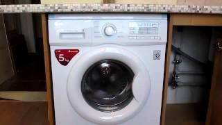 Тестуємо пральну машину LG F-10B9LD
