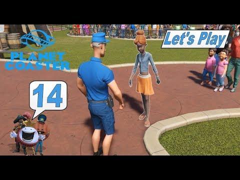 Planet Coaster 14 Auf frischer Tat ertappt Achterbahn Simulator deutsch HD lets play