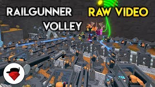 A Quad Op of Railgunners vs Void (RAW Video) | Tower Battles [ROBLOX]