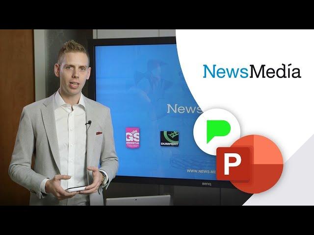Bedrijfspresentatie NewsMedia | Portfolio | PPT Solutions