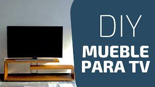 Como hacer un mueble para tv | DIY modern console table