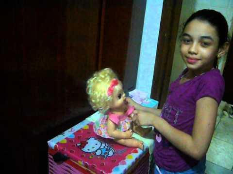 Como Cuidar Da Baby Alive Troninho By Paloma A 180 Phe