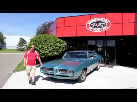 1968 Pontiac GTO Classic Muscle Car for Sale in MI Vanguard Motor Sales