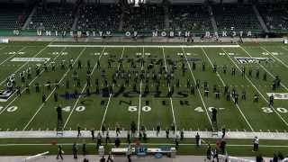 2014 UND v Stony Brook Pride of the North Halftime Show - Television Feed