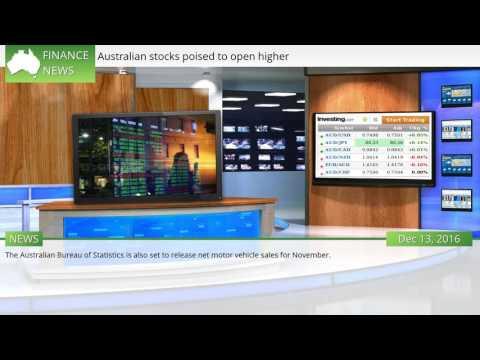 Australian stocks poised to open higher