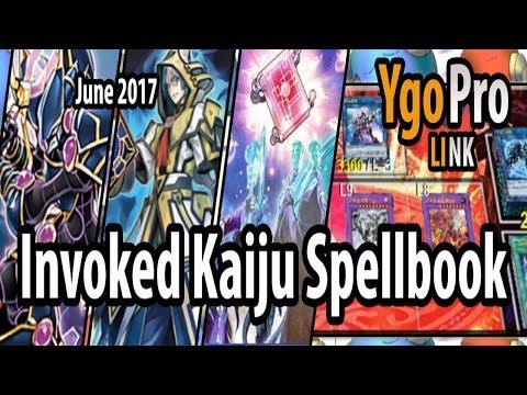 Invoked Kaiju Spellbook (YgoPro LINK) - Enter Thunder Dragon & Scapegoat! Galdrabok aka D-Draw!