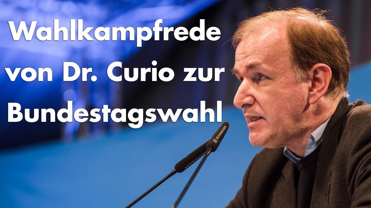 Wahlkampfrede in Stuttgart
