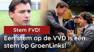 Baudet bij Business Class: Een stem op de VVD is een stem op GroenLinks