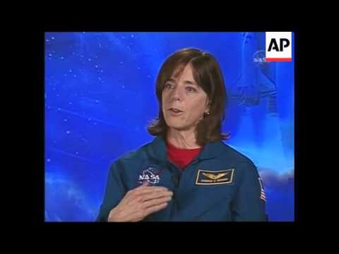 A former Idaho teacher who trained with Christa McAuliffe, is set to fly Wednesday on the space shut