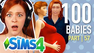 Single Girl Has Her Final Pregnancy In The Sims 4 | Part 57