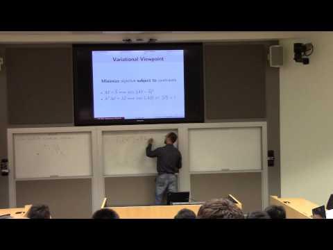 Lecture 1:  Introduction; numerics; error analysis (part I)