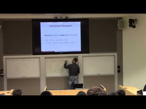 Lecture 1:  Introduction; numerics; error analysis (part I)