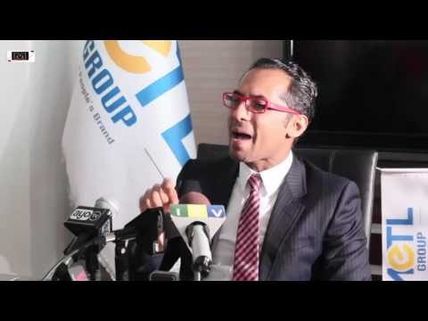 Press Conference: Simba Sports Club - MCL Digital - August 2016 - Mohammed Dewji