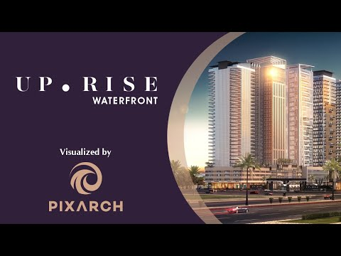 Up-Rise Waterfront - 3D Visualization by PIXARCH