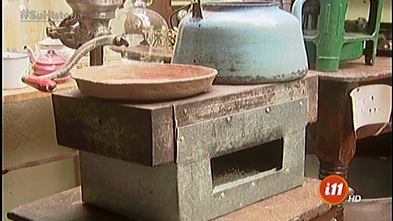 Las cocinas antiguas de don jorge youtube for Cocinas de hierro antiguas
