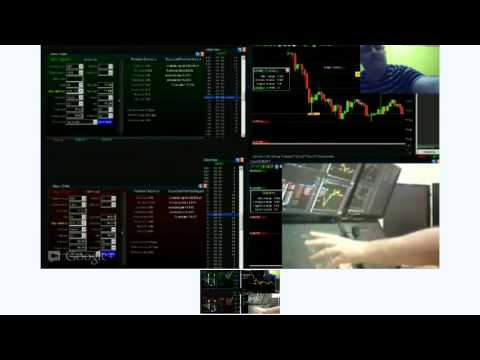 Crazy FOREX trader multi-monitor trading station set-up. HOW-TO use 4 and 6 monitors
