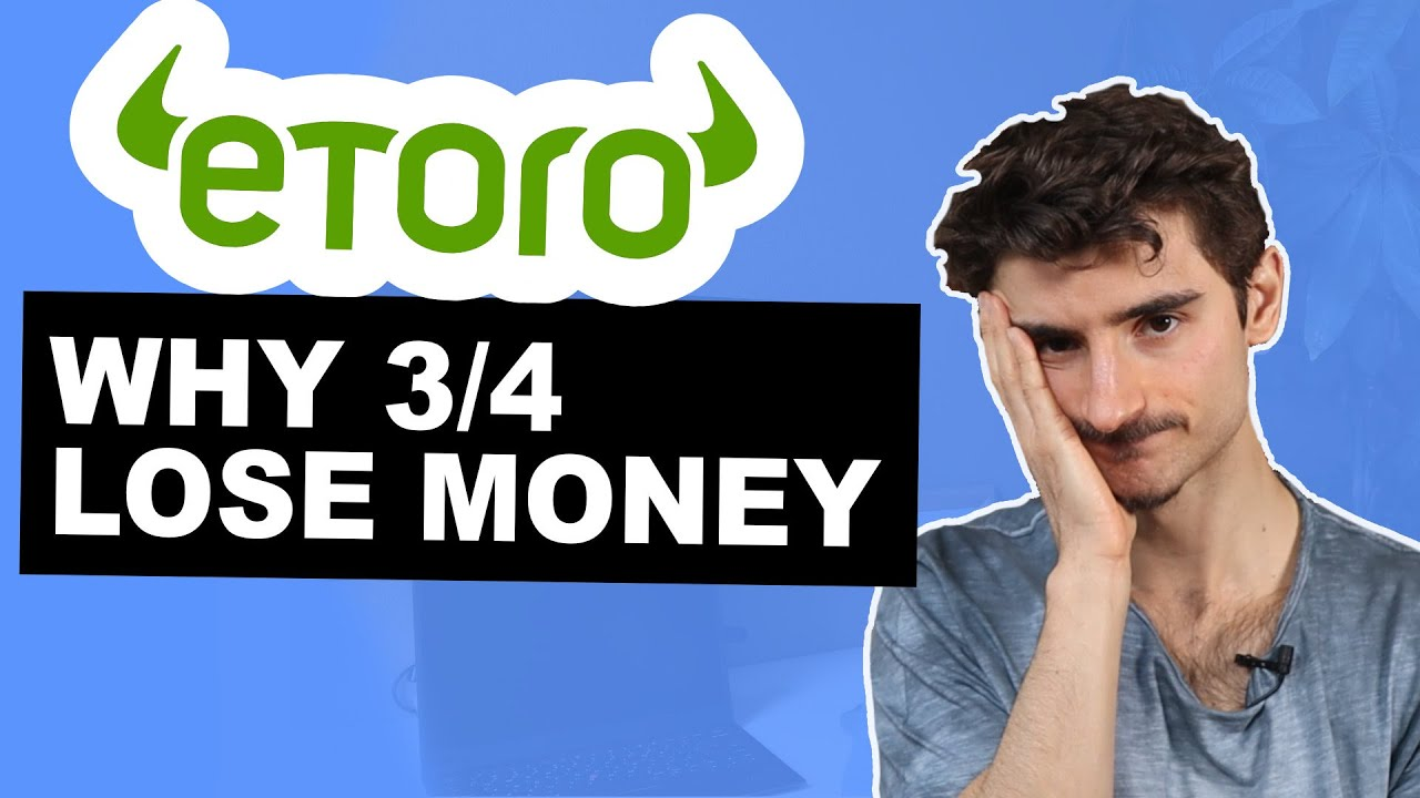 Why do 34 people lose Money on Etoro Risks with CFD Trading