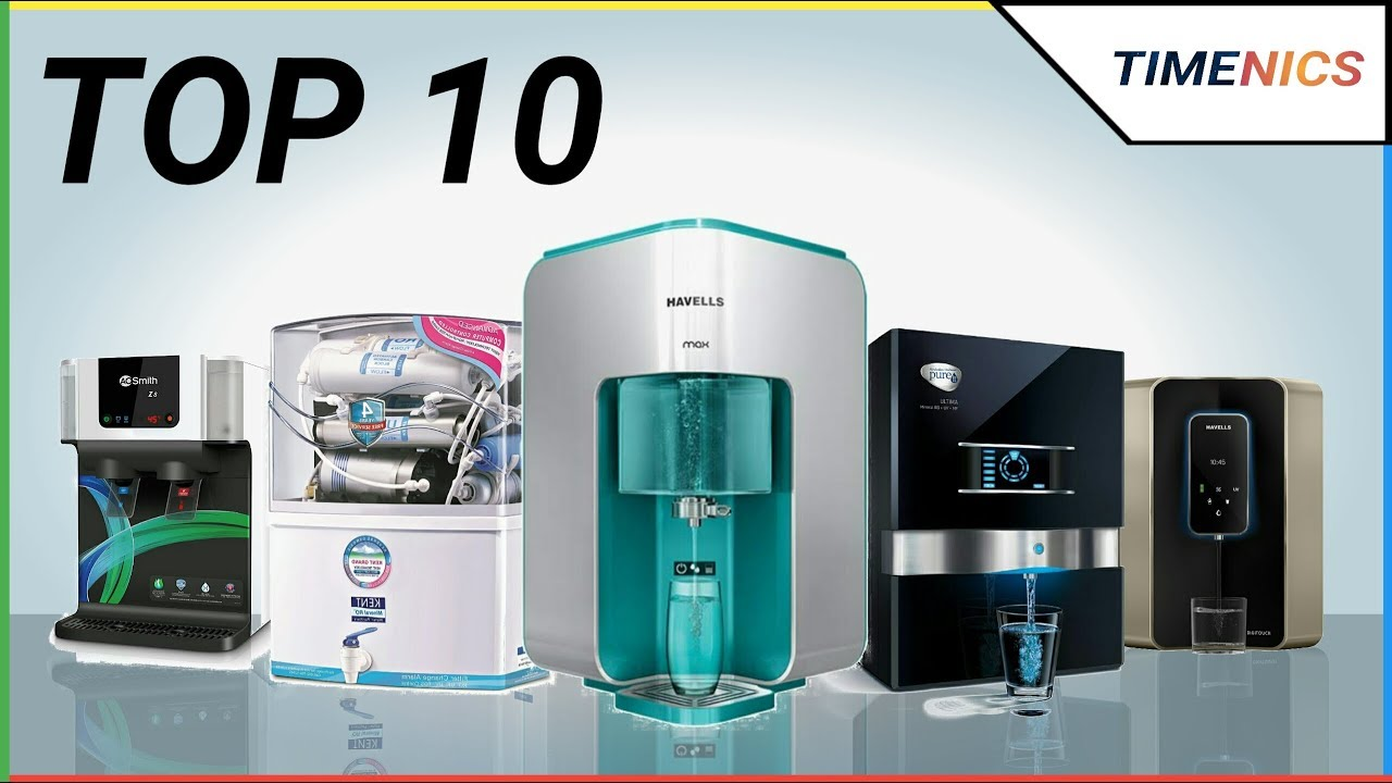 Top 10 Best Water Purifiers In India - YouTube