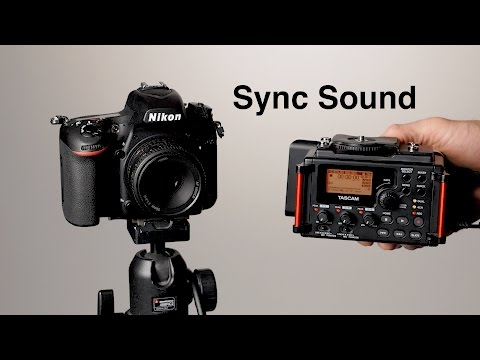 How to Record Sound for Video: Dual System Sync Sound