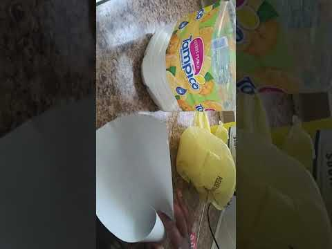 Momma Hacks:How to make a funnel out of paper