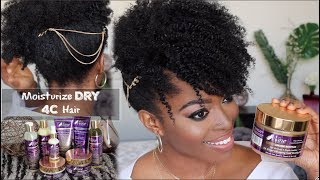 HOW TO Moisturize DRY Type 4 Hair & Achieve Ultimate Definition ft. The Mane Choice Ancient Egyptian