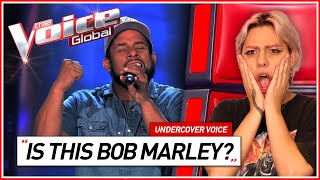 """""""He almost sounds like BOB MARLEY""""   Undercover Voice #5"""