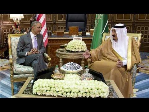 Obama Visits Saudi Arabia for Talks with Gulf Leaders