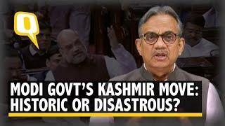 Modi Sarkar Scraps Special Status of J&K: Historic or Disastrous?   The Quint