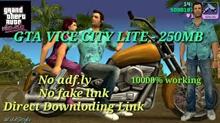 NEW GTA Vice City Lite Apk+Data.[250MB] 100%working. NO ADF.LY , DIRECT LINK [HIINDI/URDU June 2018