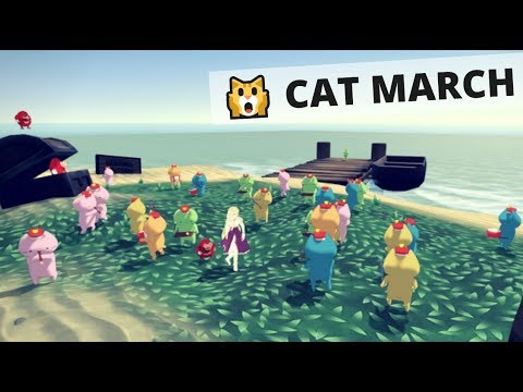 """Cutest Cat March"" on VRChat"