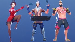 Fortnite All Dances Season 1-9 Updated to Sizzlin'