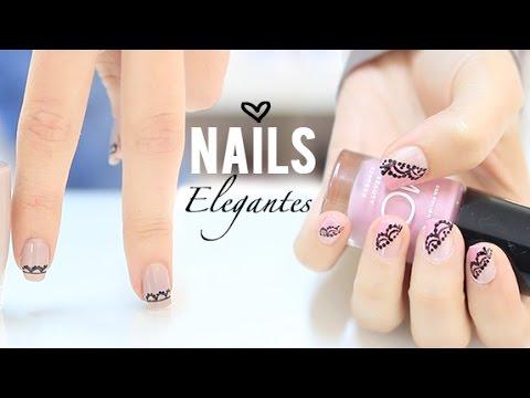Dise os de u as f ciles y elegantes easy elegant nail for Disenos de unas