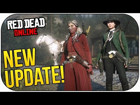 Red Dead Online: HUGE DLC! GAMBLING, NEW WEAPON, MISSIONS & EVENTS!
