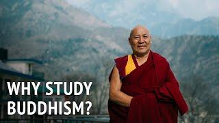 Geshe Lhakdor – Why Study Buddhism?