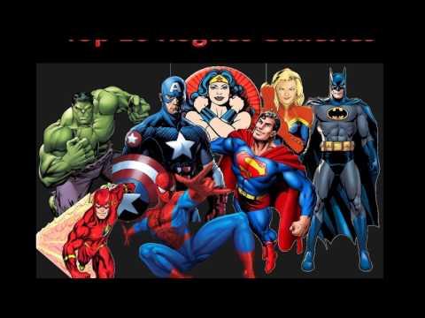 Superheroes - Top 10 Rogues Galleries
