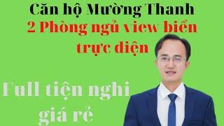 Căn hộ Mường Thanh 2 phòng ngủ view biển trực diện full tiện nghi giá rẻ|Hà Văn Duẩn
