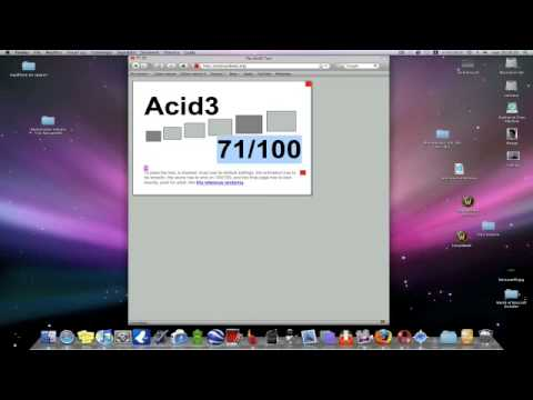 Something about Mac - Browser: Acid3 Test