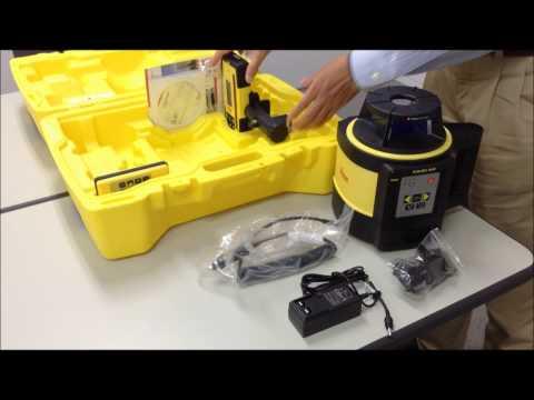 回転レーザー Leica Rugby 840: 同梱物