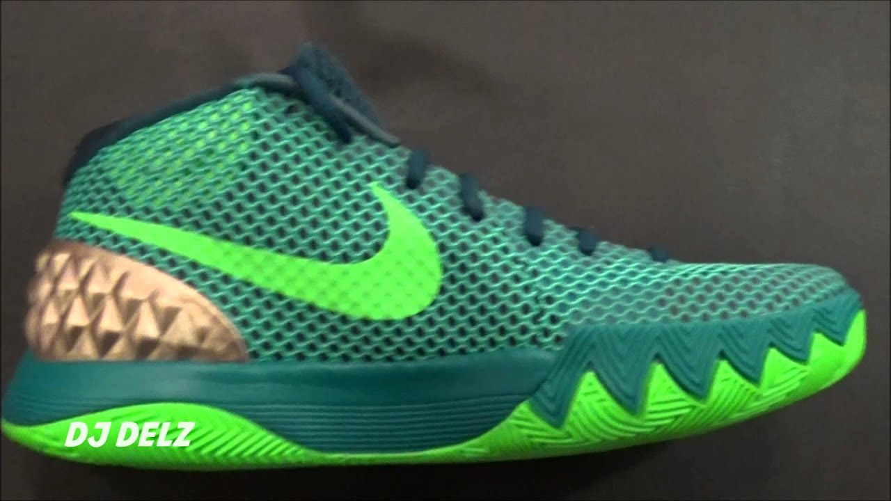 kyrie 1 green gold Nike ...