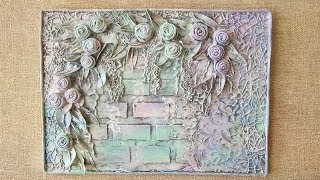How to make a panel with your own hands. Beautiful decor idea