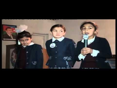 Ağdam rayon Çəmənli kənd tam orta məktəbinin 3 B sinif sagirdlərinin 20 yanvar. Hüseynova Gülnar