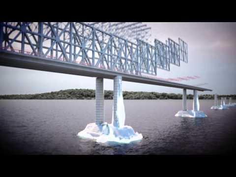 Мост через Керченский пролив. Презентация Автодора.